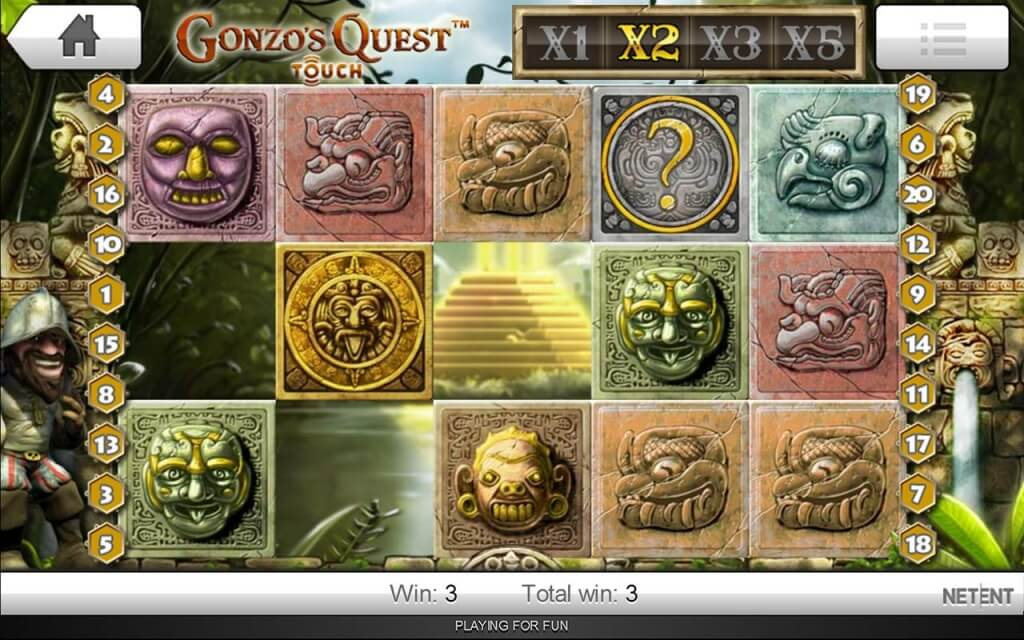Gonzos Quest Online Slot Net Entertainment Slot