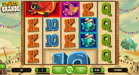 Spinata Grande Slot Game Net Entertainment Slot