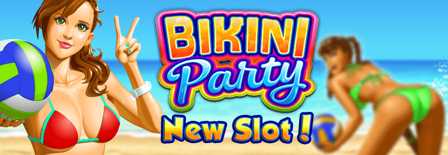 Bikini Party slots - your own incendiary volleyball team