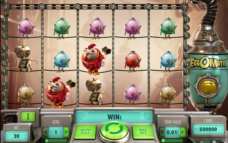 EggoMatic Slot Game