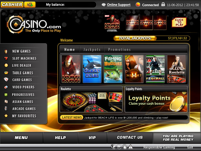 casino that have pick 3 and pick 4 online play