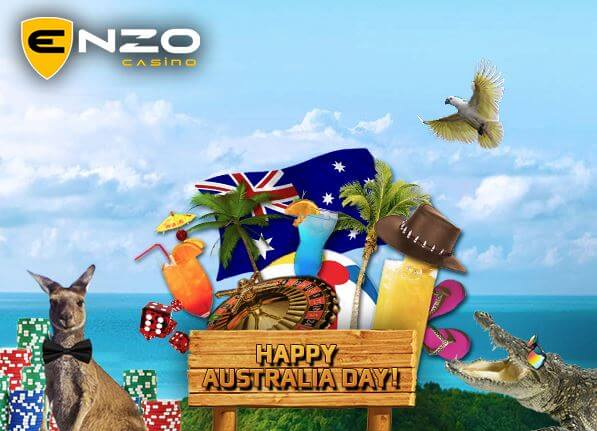 Happy Australia Day at Enzo Casino