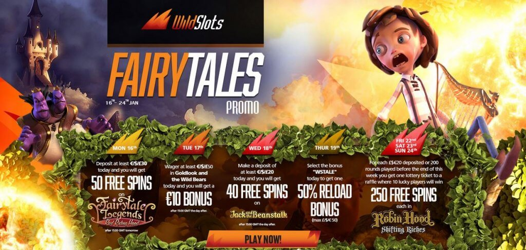 Fairytales Come to Life at WildSlots