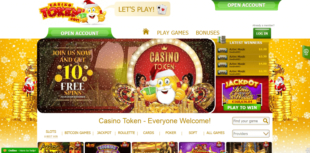 Casino Token Website